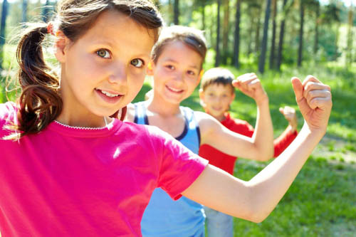 KIDS VisionSmart supports the natural production of Childrens Growth Hormone important for developing muscle tone and mass
